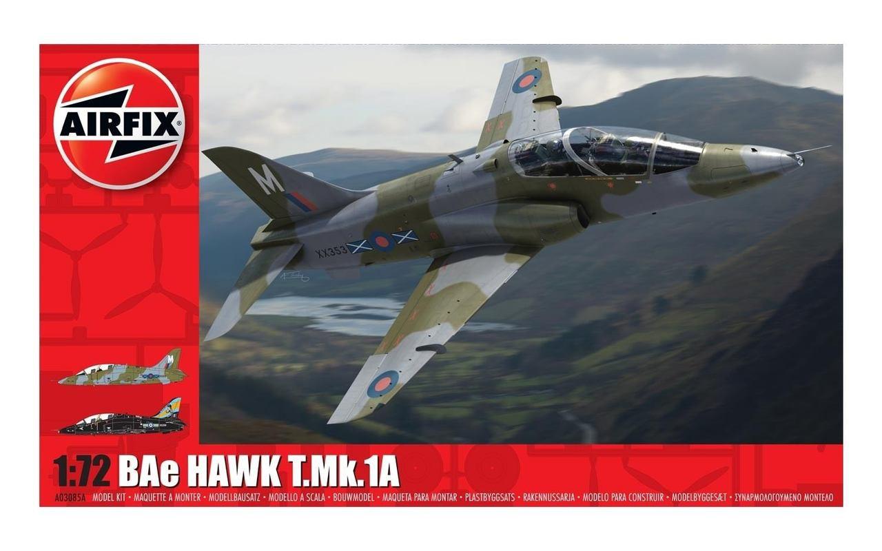 Airfix A03085A BAe Hawk T.Mk.1A 1:72 Scale Model Kit