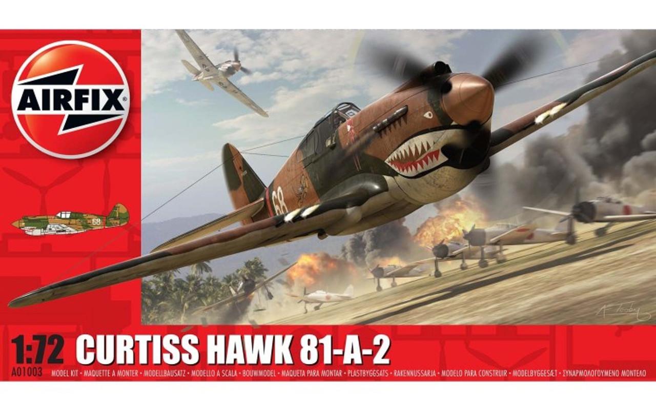 Airfix A01003 Curtiss Hawk 81-A-2 1:72 Scale Model Kit