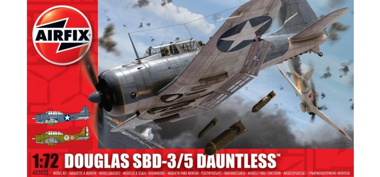 Airfix A02022 Douglas Dauntless SBD 3/5 1:72 Scale Model Kit