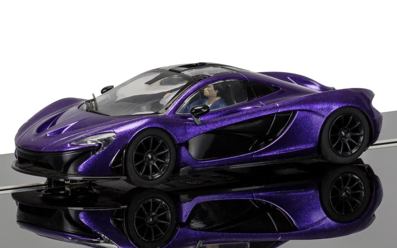 Scalextric C3842 McLaren P1 (Purple) 1:32 slot car