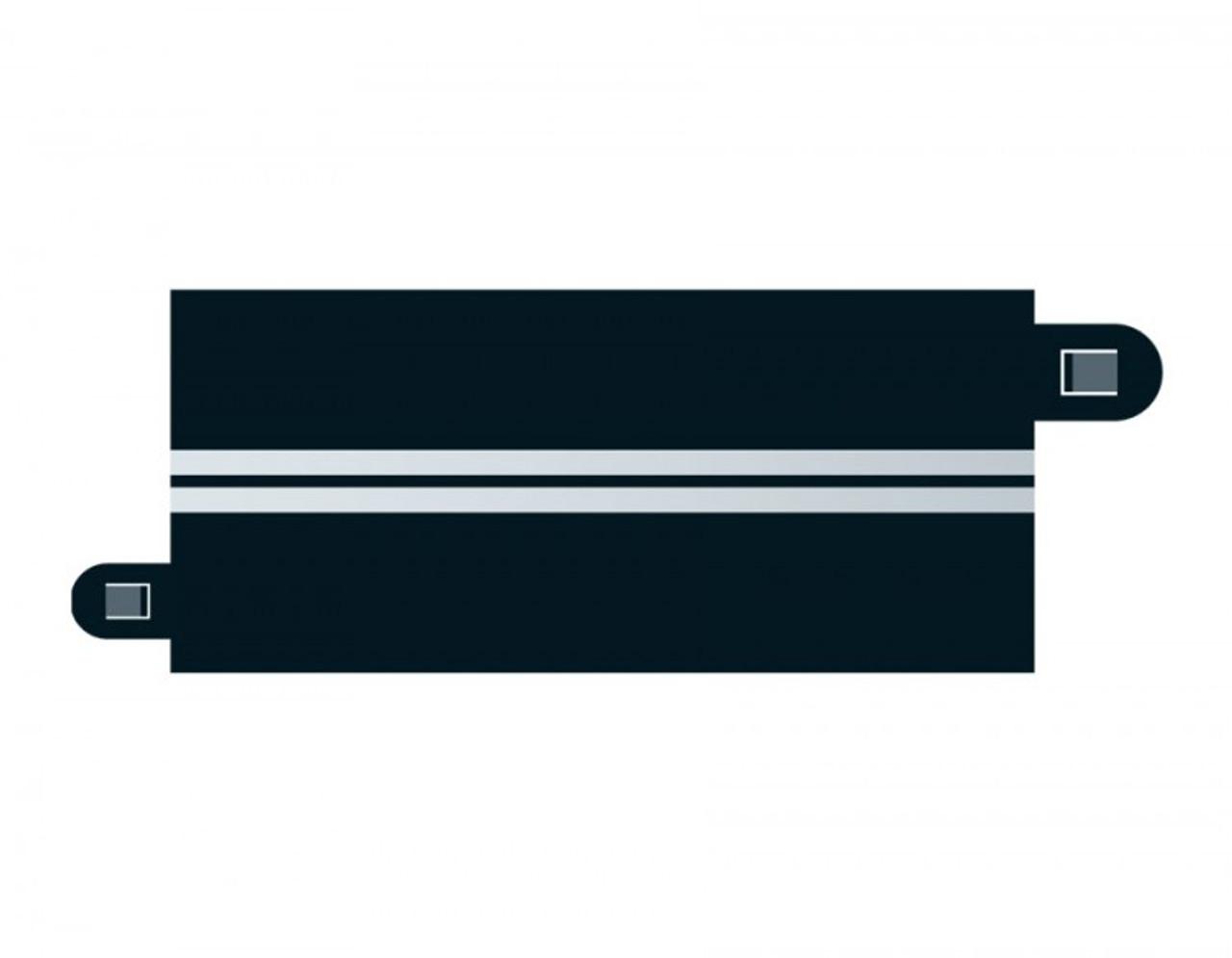 Scalextric C7016 Single Lane Half Straight (4) Slot Car Accessories 1:32