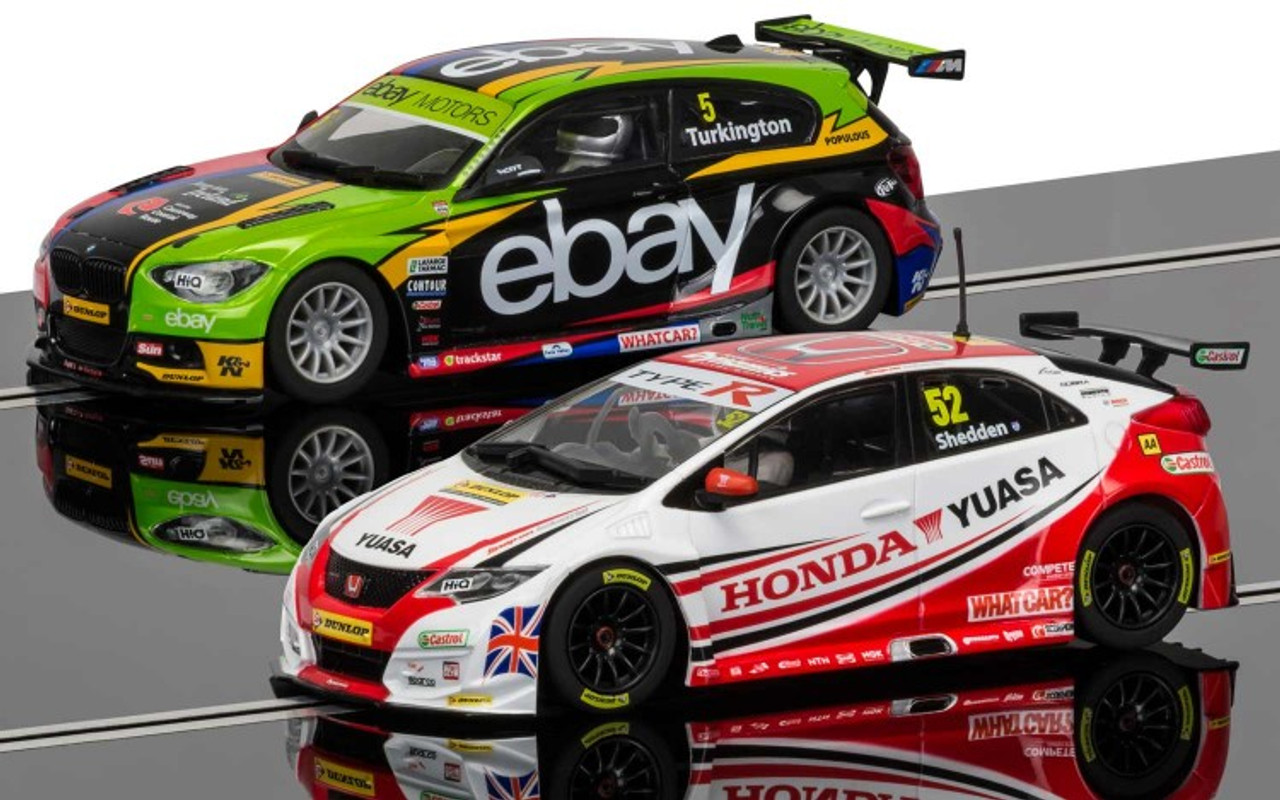 Scalextric C3694A BTCC 2014 Champions Special Edition