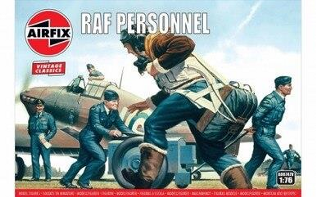 Airfix A00747V RAF Personnel 1:76 Scale Model Kits