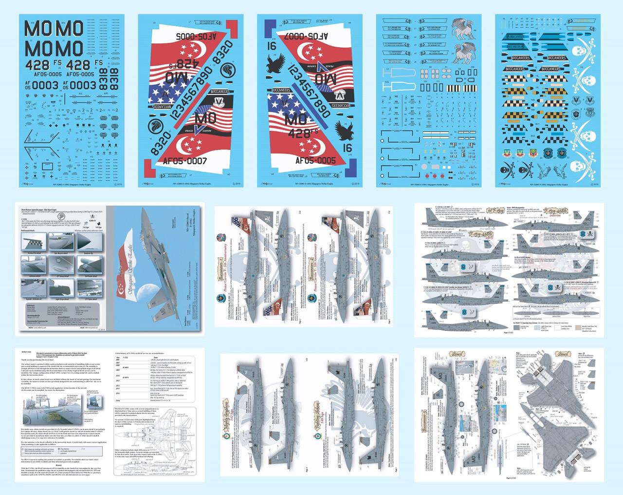 MILIVERSE MV-32003 RSAF F-15SG Singapore Strike Eagles (MV-32003)