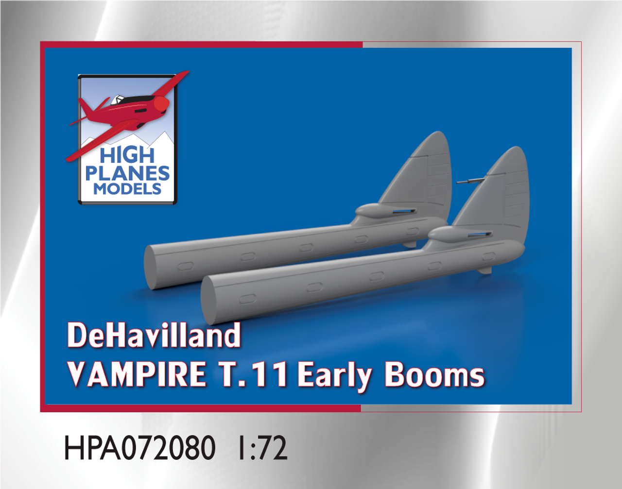 High Planes DeHavilland Vampire T.11 Early Booms 1:72 Accessories (HPA072080)