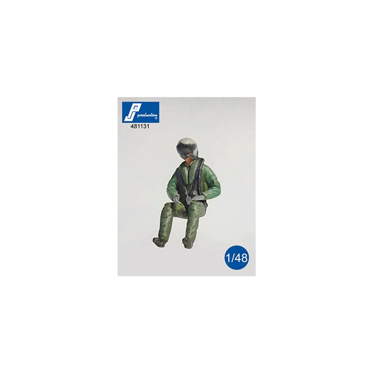 PJ Productions Eurofighter Pilot Seated in Aircraft Figures 1:48 (PJP481131)