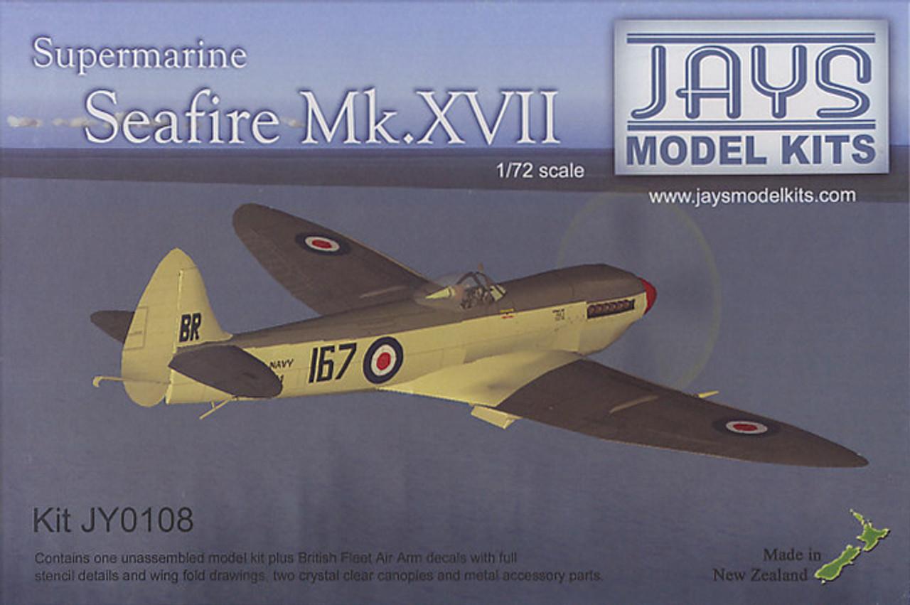 Jays Model Kits Ventura Supermarine Seafire Mk XVII (Kit 1:72)