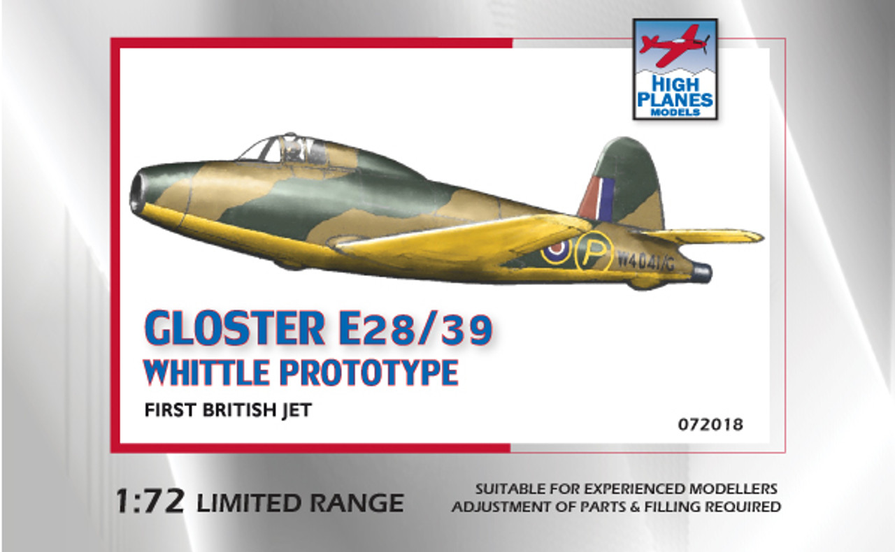 High Planes Gloster E28/39 Whittle Pioneer