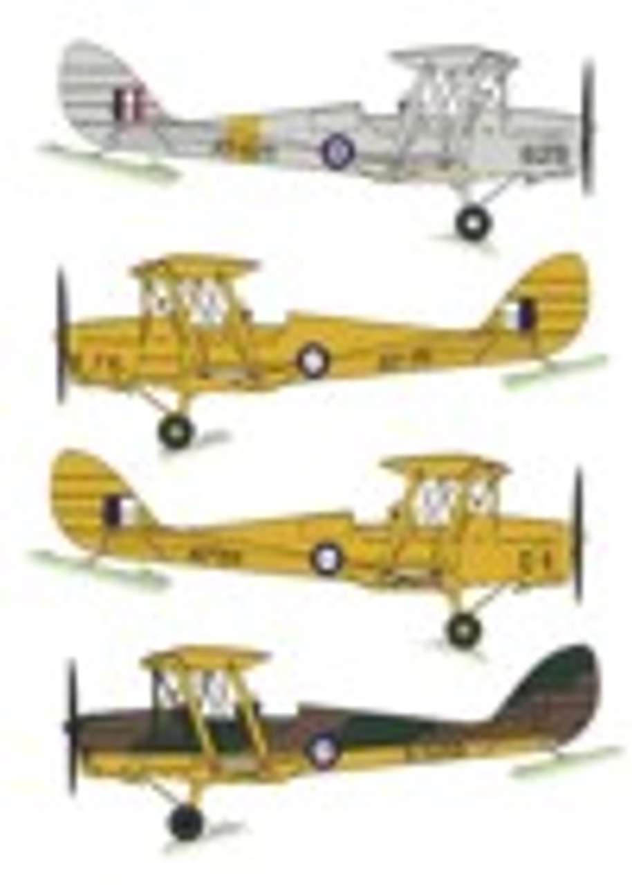 Red Roo Models WWII RAAF Tiger Moths Decals 1:72