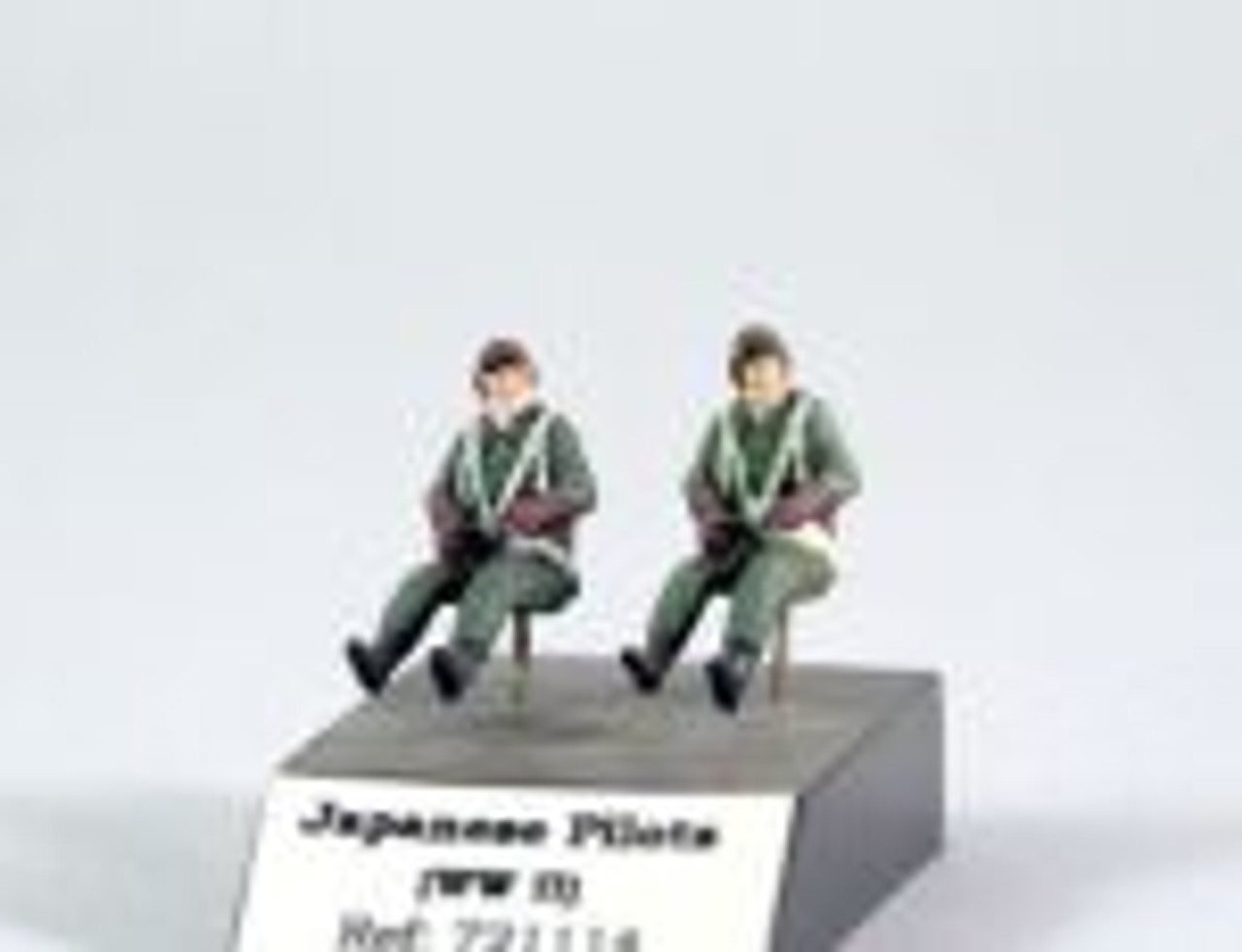 PJ Productions 2x Japanese pilots seated in a/c WW