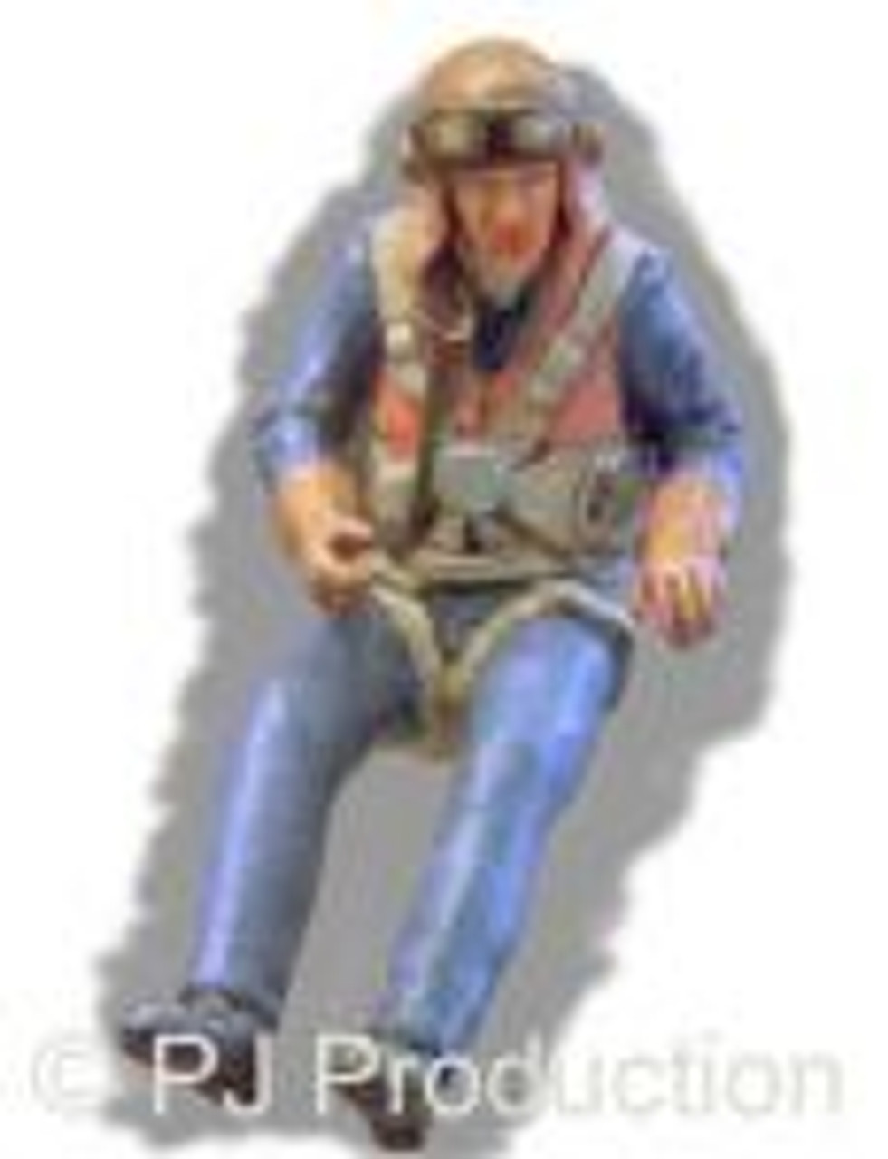 PJ Productions RAF pilot seated in a/c (WW2) (Figures 1:48)