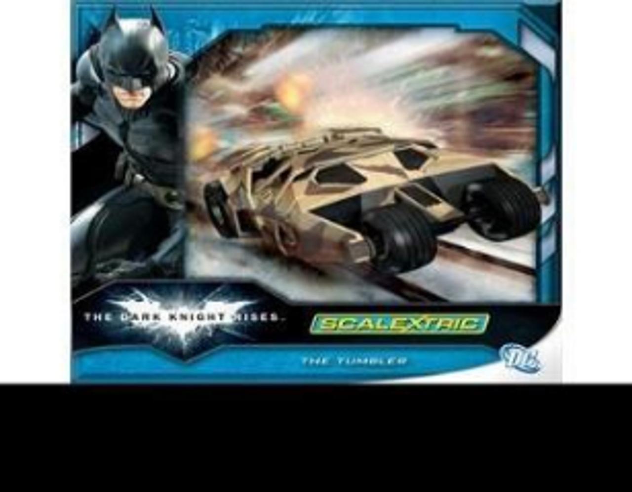 Scalextric C3333A Batman-The Tumbler The Dark Knight Riser  Slot Car Accessories
