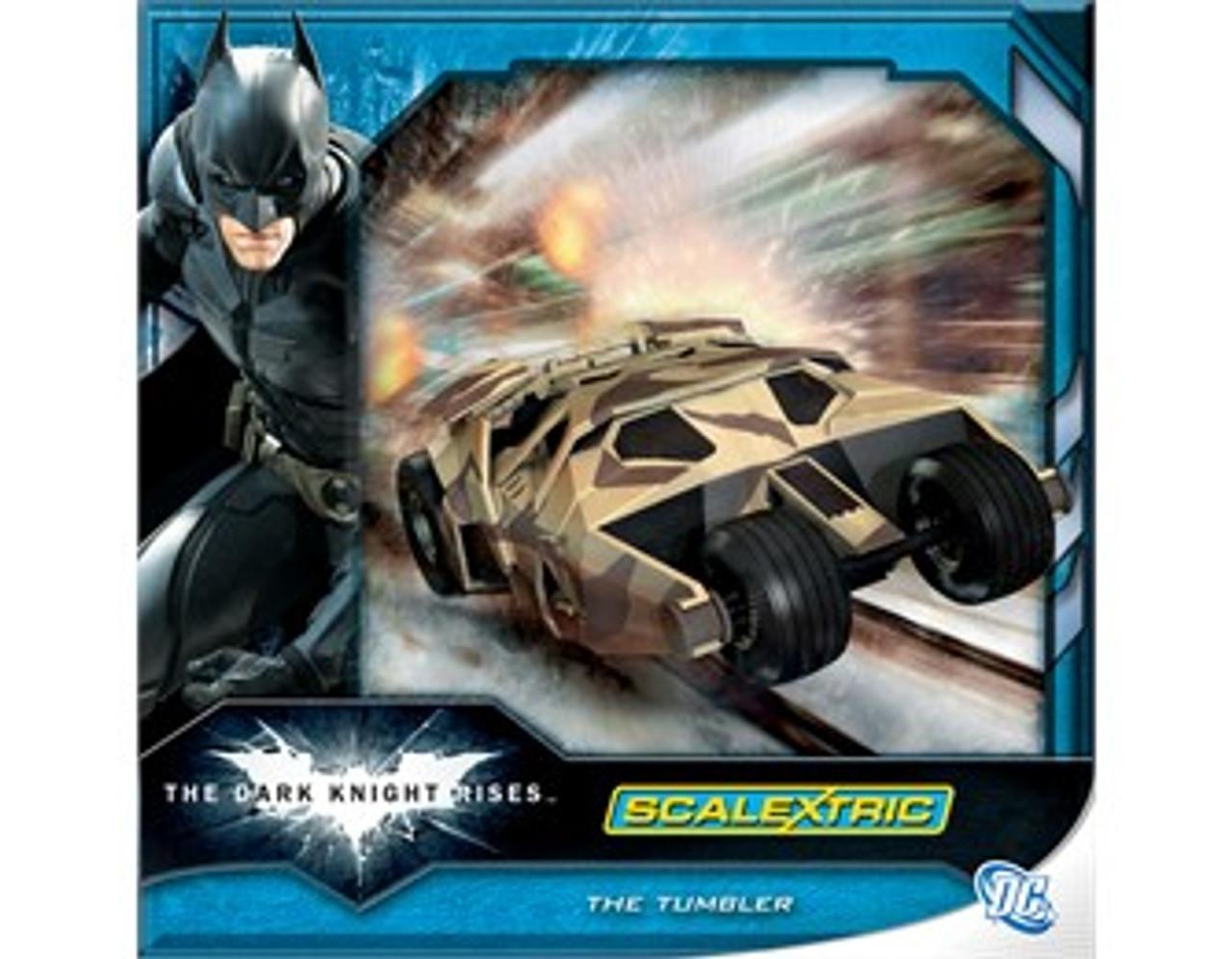 Scalextric C3333A Batman-The Tumbler The Dark Knight Riser Slot Car Accessories (C3333A)