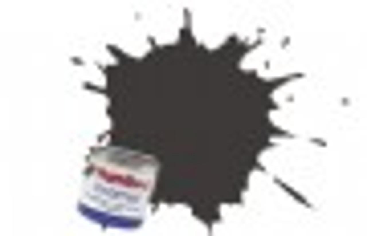 Humbrol AB0010 Acrylic Paint 10 Gloss Service Brown 14ml Bottle