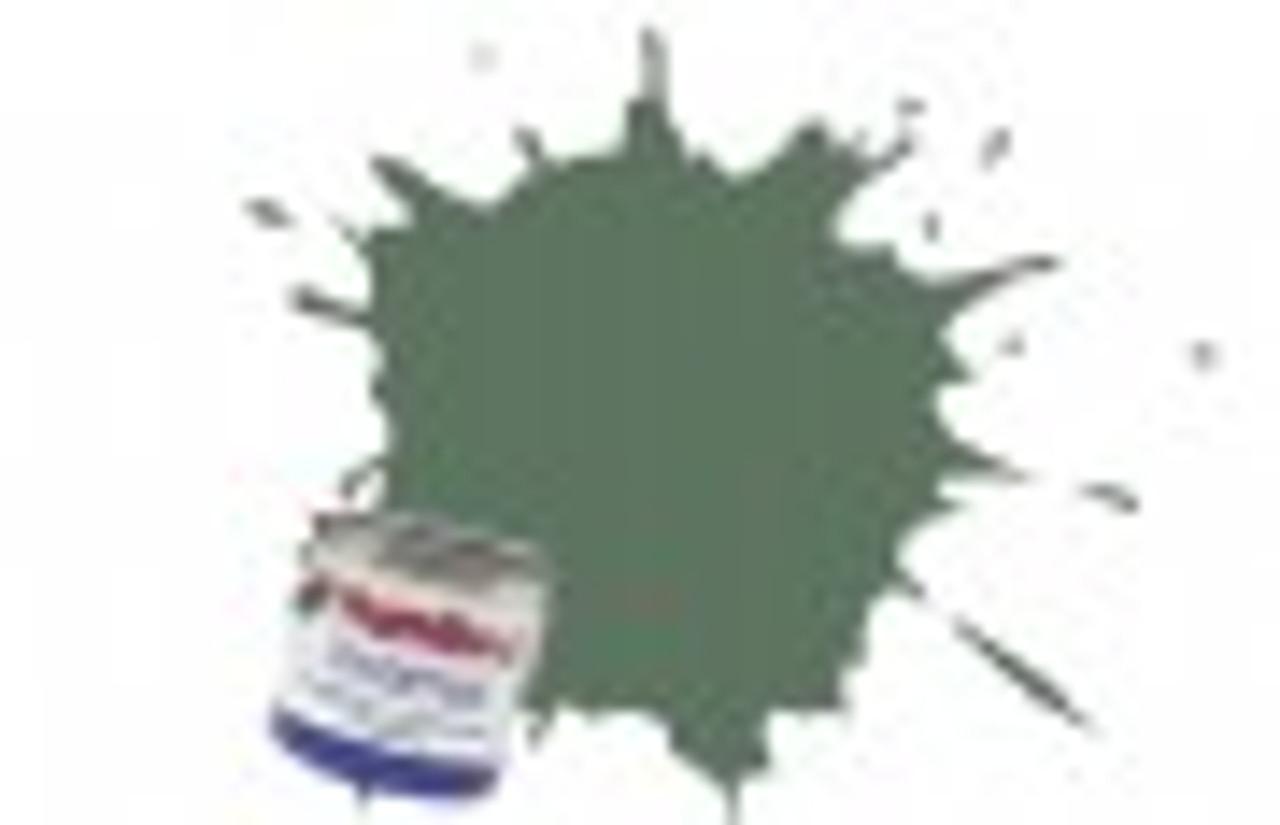 Humbrol Acrylic Paint 102 Matt Army Green 12 ml Jar