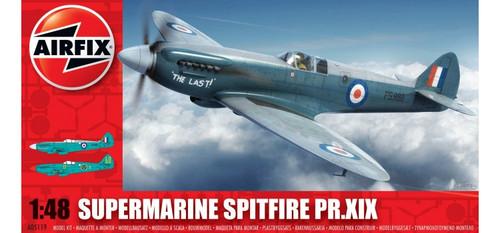 High Planes Vickers Supermarine Spitfire PR.XIX bundle Airfix A05119 Kit 1:48 HPK048013