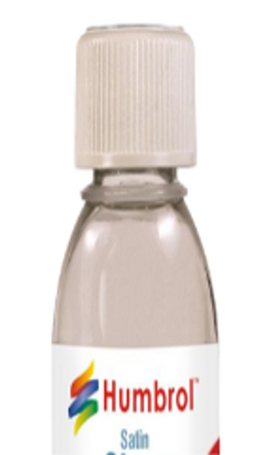 HUMBROL Clear Satin Varnish 125ML