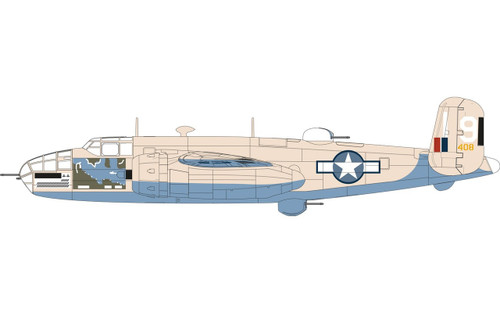 Airfix North American B25C/D Mitchell 1:72 Scale Model Kit (A06015)