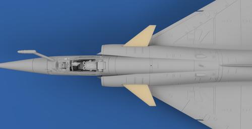 High Planes Dassault Mirage FW C70 Canard Accessories 1:72 (HPA072062)