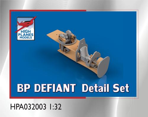 High Planes Boulton Paul Defiant detail set Accessories 1:32