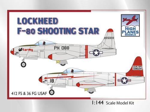 High Planes Lockheed F-80 Shooting Star 1:144 kit