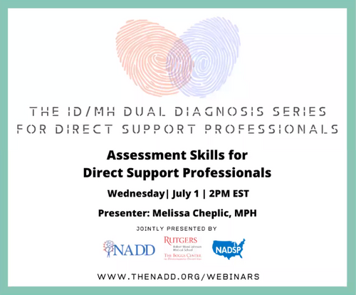 Assessment Skills for Direct Support Professionals