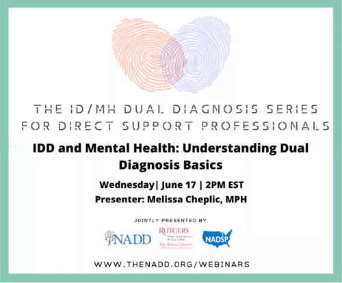IDD and Mental Health - Understanding Dual Diagnosis Basics