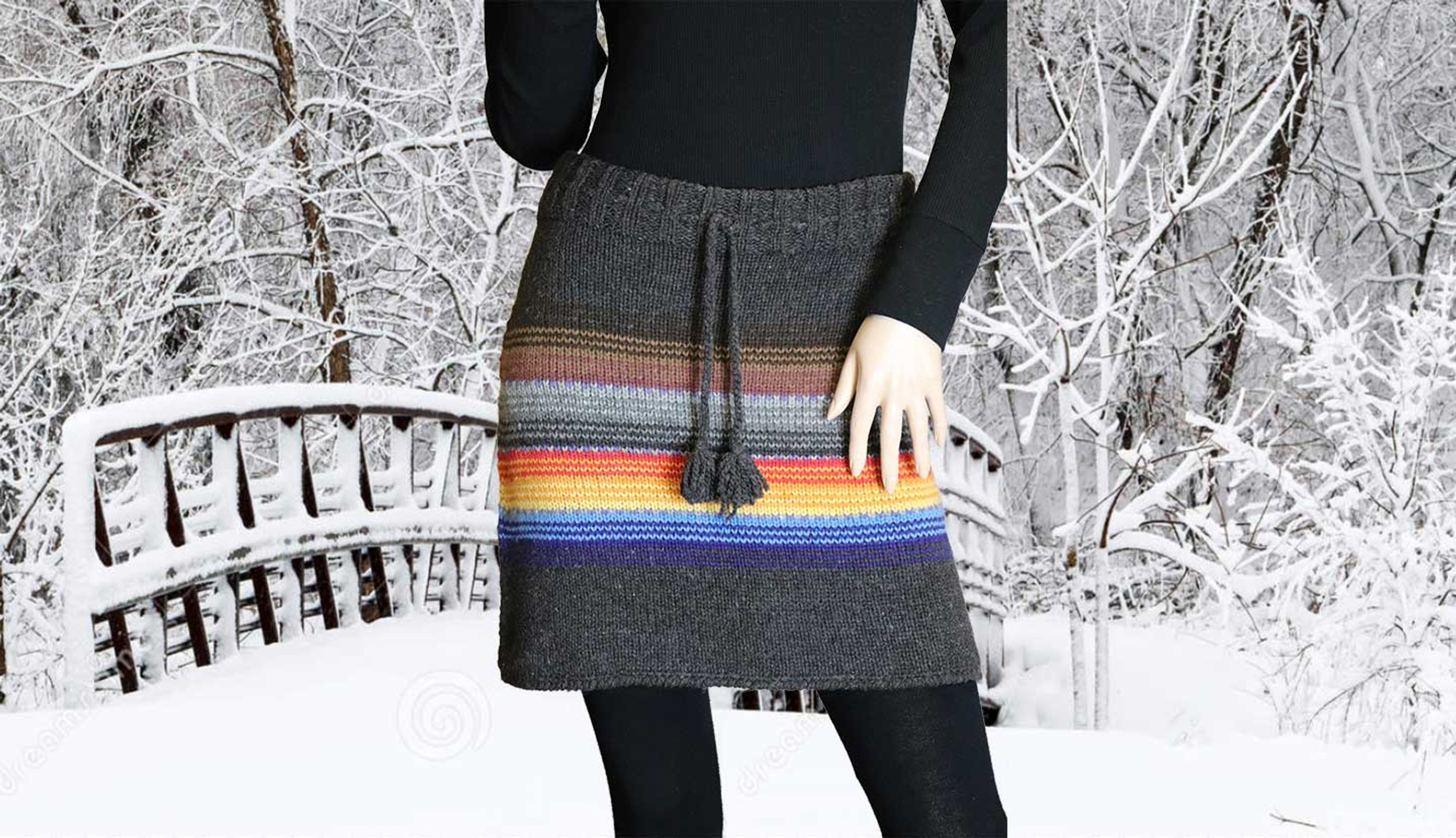 2021 Artesania Women's Knit Skirt