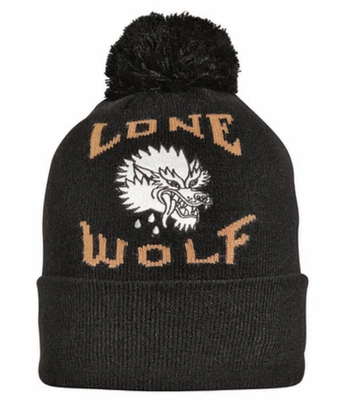 2020 Turtle Fur Lone Wolf Pom Hat