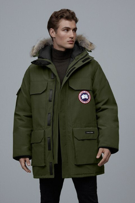 Men's Expedition Parka- Military Green