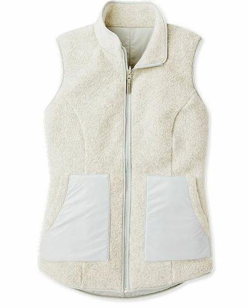 2021 Women's Anchor Line Reversible Sherpa Vest