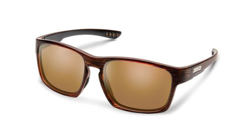 Fairfield Sunglasses-Burnished Brown/Brown Polarized