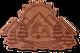 Mountain Camper Wood Sticker