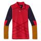 2022 W's Intraknit Merino 200 Colorblock 1/4 Zip