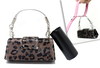 Luxury Doggy Business Purse- Brown Leopard