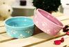 Pastel Paws Stoneware Bowl