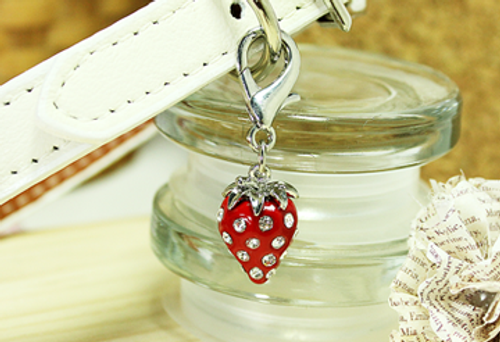 Strawberry D-Ring Charm