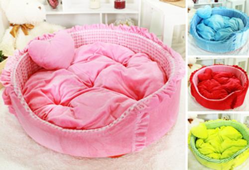 Plush Round Bed Series