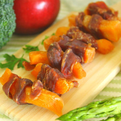 Chicken and Sweet Potato dog treat made in USA