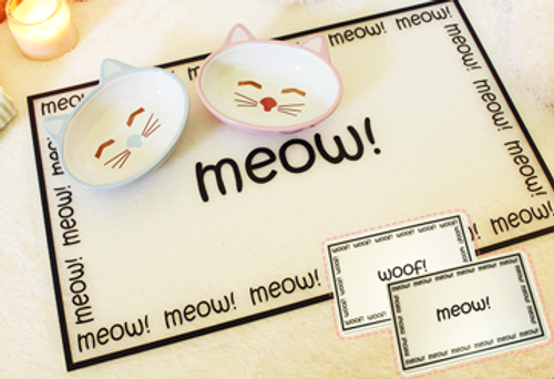 Meow & Woof Dining Placemat