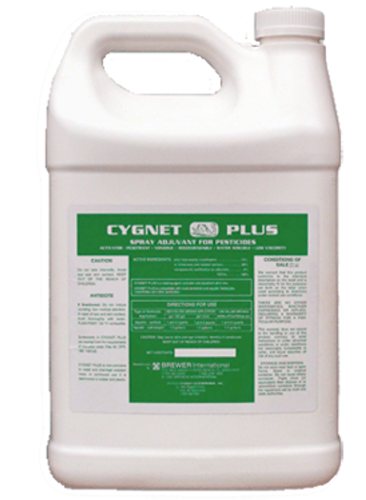 Cygnet Plus is an effective non-ionic sticker, penetrant, wetter, and surfactant all in one product.