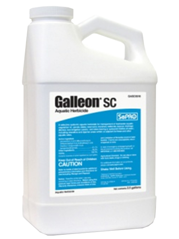 Galleon SC provides an additional systemic mode designed for improved herbicide resistance management. This is the perfect product for your pond!