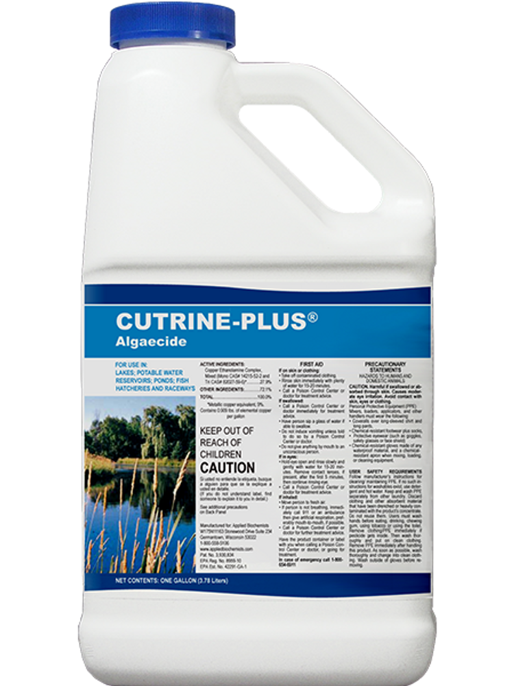 Cutrine-Plus Liquid (2.5 Gallons)