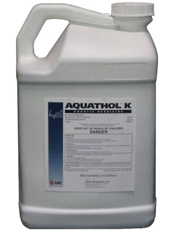 Aquathol K provides control of aquatic weeds in a relatively short time, generally 3-4 weeks, and provide long-term control depending on the application timing and the target species.