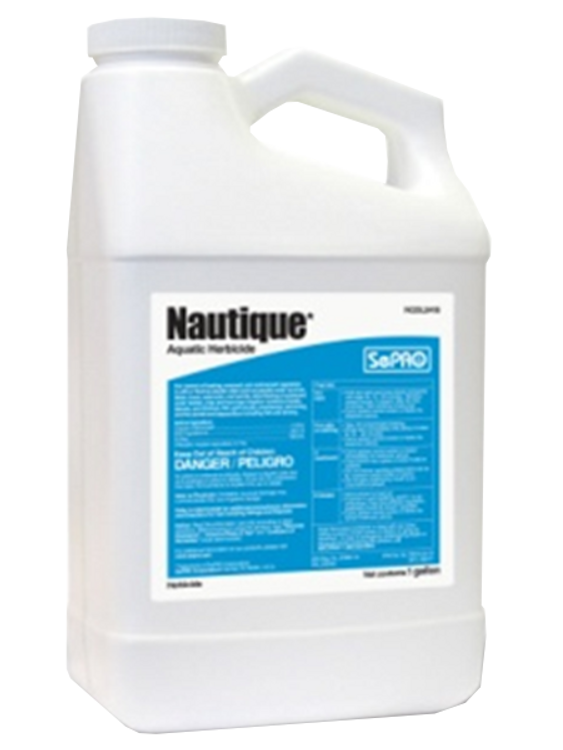Nautique is a fast-acting, economical herbicide that provides localized control of nuisance and exotic plants. A copper-based herbicide, Nautique works on contact for spot & local treatment of tough weeds.