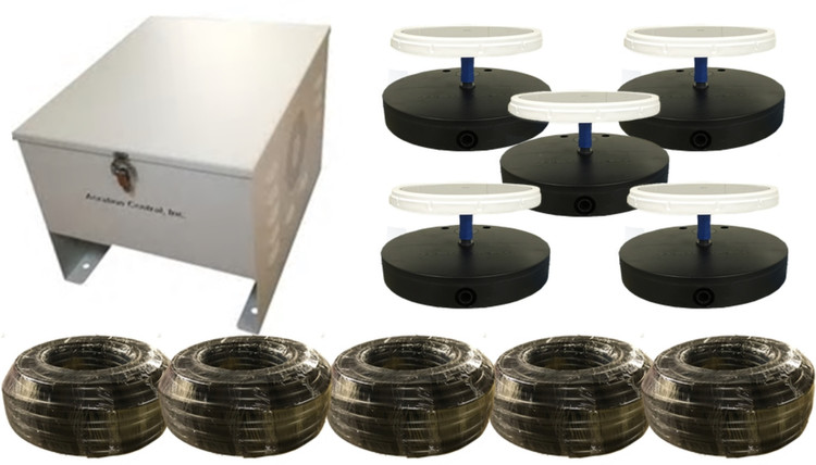 Pond Aerator - Pond Aeration System - Diffuser - Weighted Hose