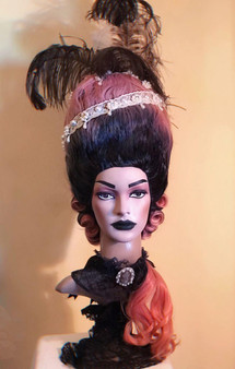 18th century Marie-Antoinette inspired wig Rococo wig