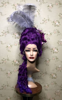 18th century styled wig