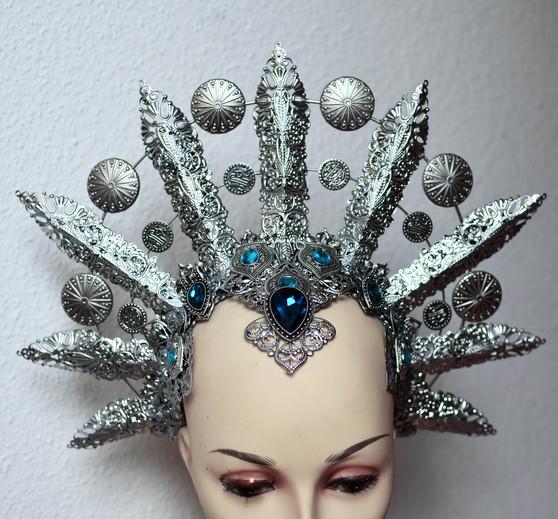 Queen of Damned headpiece - Vampire Queen crown - Akasha cosplay headdress