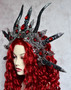 Succubus headpiece for role play games